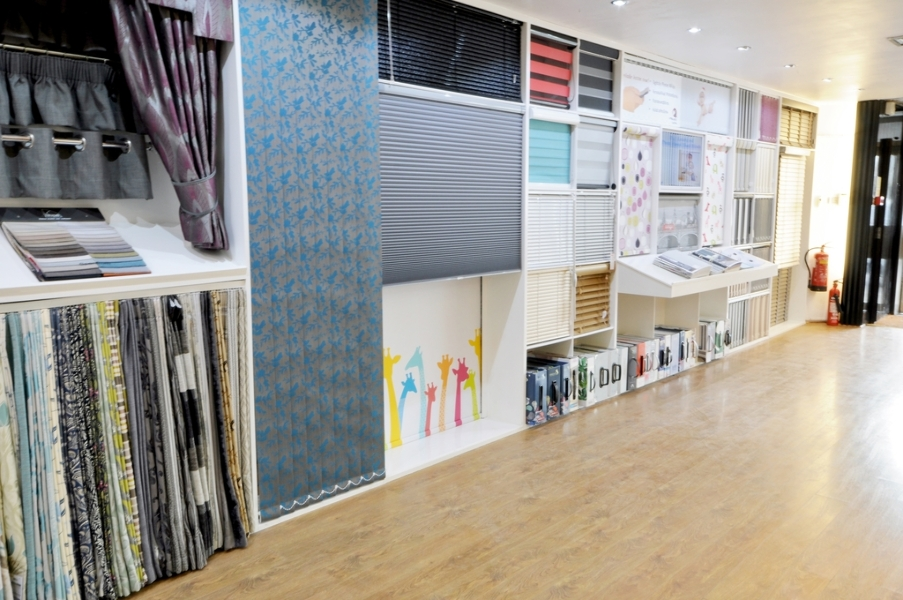 Our Window Blind Displays