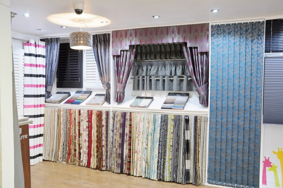 Our Made To Measure Curtain Displays