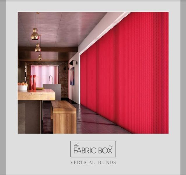 The Fabric Box Vertical Blind Virtual Book