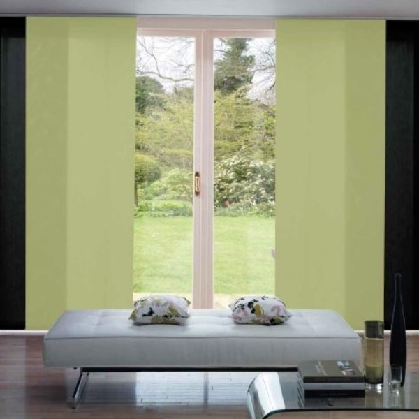 Panel blinds are perfect for large areas