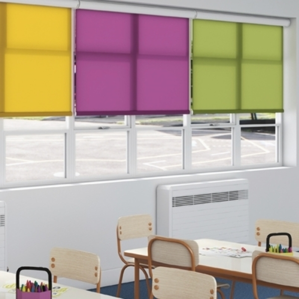 School commercial blinds