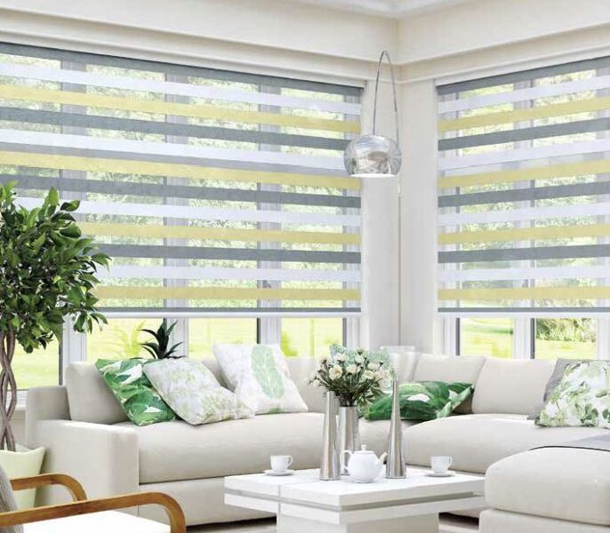 Vision Blinds in the Conservatory