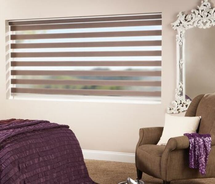 Vision Blinds in the Bedroom