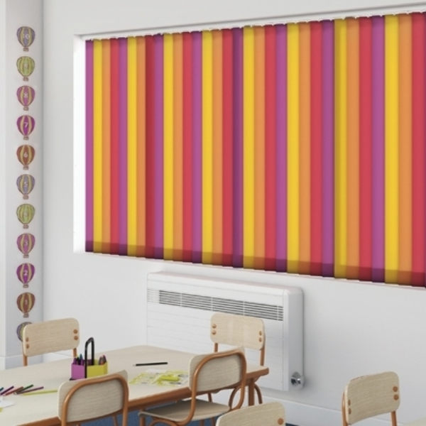 Commercial blinds for nursery and schools
