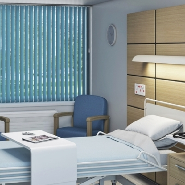 Hospital commercial blinds