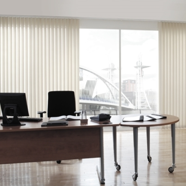 Office and factory commercial blinds