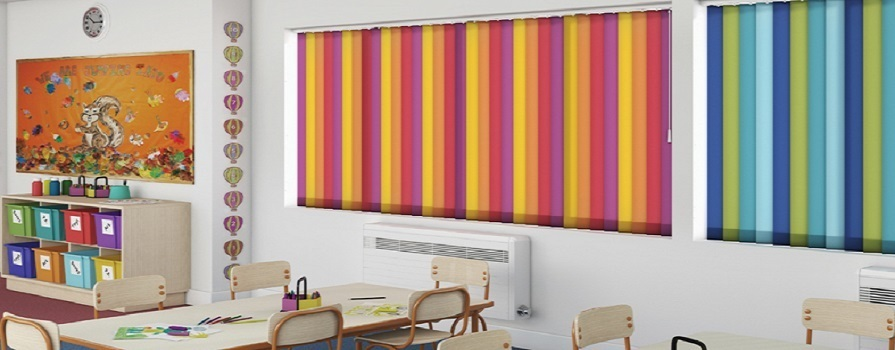 School Vertical Blinds
