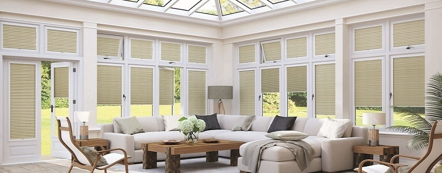 Made To Measure Conservatory INTU Blinds