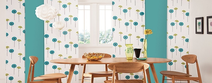 Patterned Panel Blinds