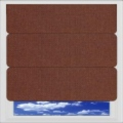 Brown Roman Blinds