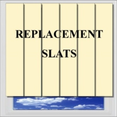 Replacement Vertical Slats Lourves
