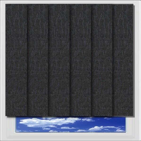 Albery Charcoal Vertical Blind