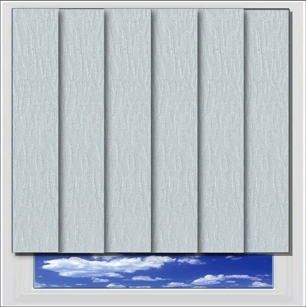 Albery Silver Vertical Blind