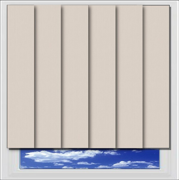 Bella Placid Blackout Vertical Blind
