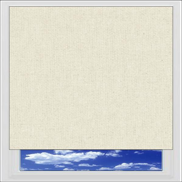Bella Beige blackout roller blind