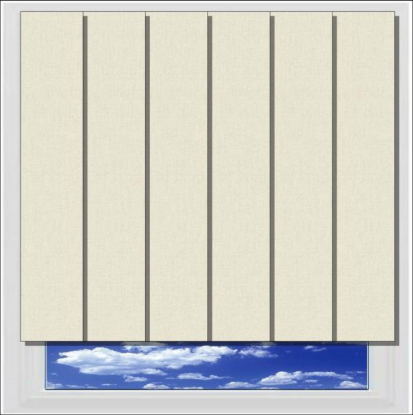 Bella Beige blackout vertical blind