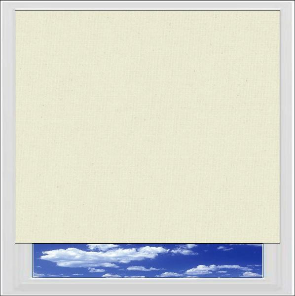Bella Butter blackout roller blind