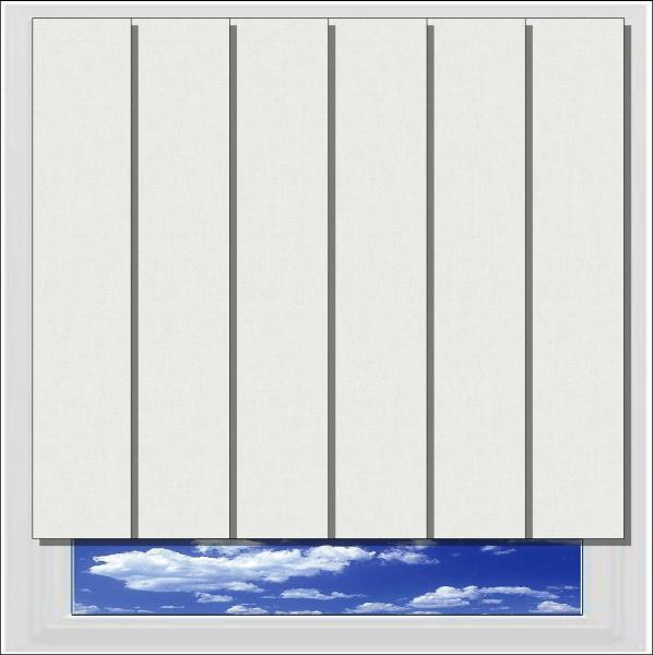 Bella Paper blackout vertical blind