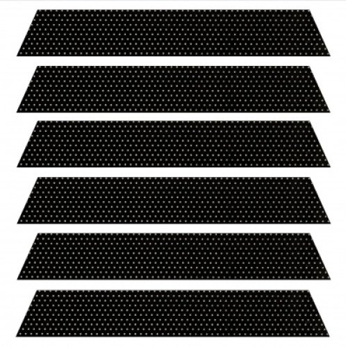 Black Filtra Perforated aluminium venetian