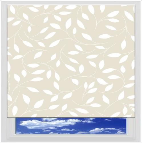Chatsworth Cream roller blind