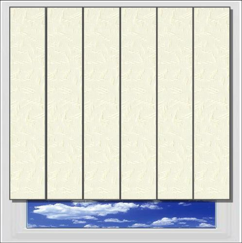 Cleo Beige vertical blind