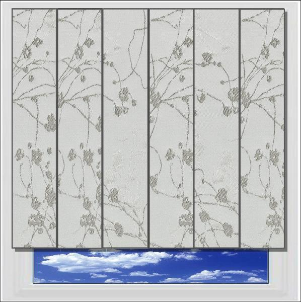 Collina Diamond Dust blackout vertical blind