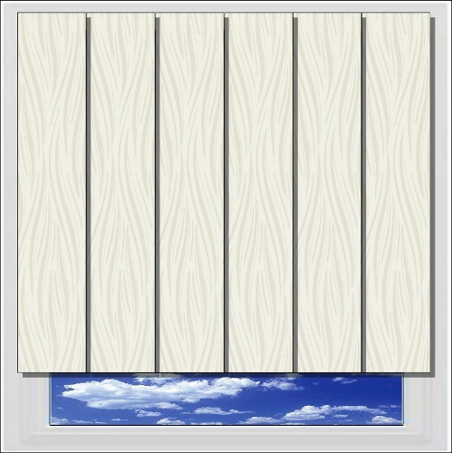 Diva Intimate PVC vertical blind