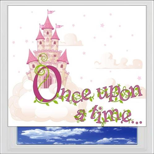 Once Upon A Time Digitally Printed Photo Roller Blind