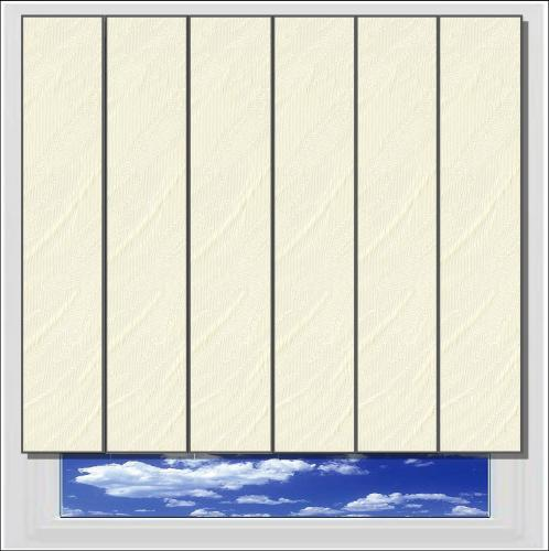 Opus Beige vertical blind