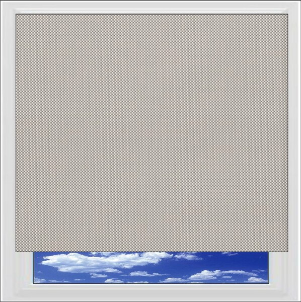 Perspective Shale Grey Screen Roller Blind