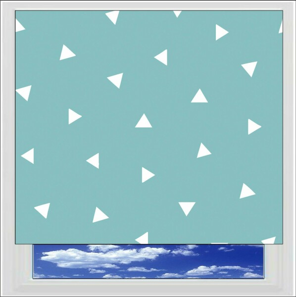 Pico Turquoise Roller Blind