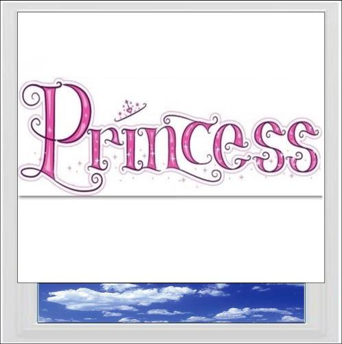 Princess Digitally Printed Photo Roller Blind