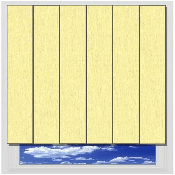 Ritz Blonde vertical blind