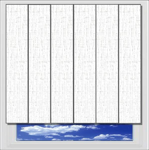 Ritz Cotton vertical blind