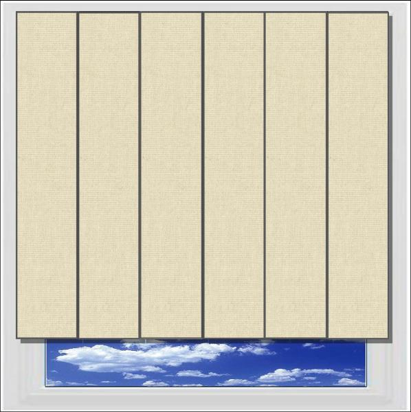 Splash Beige vertical blinds