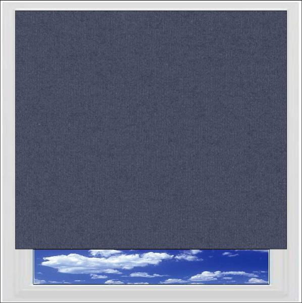 Splash Indigo roller blind