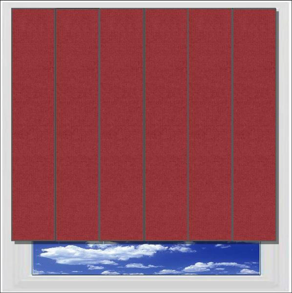 Splash Ruby vertical blind