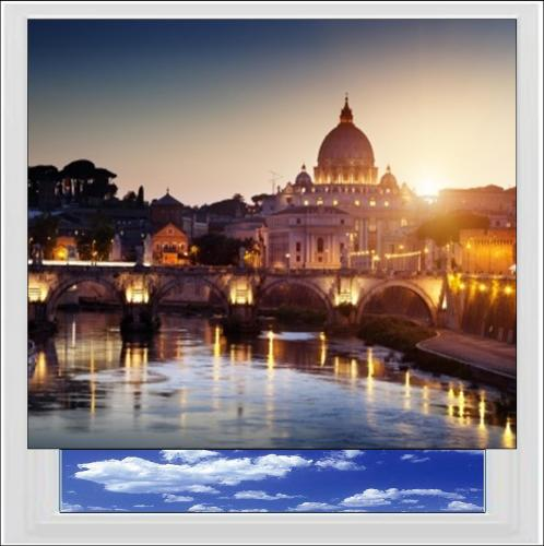 St Peter Vatican City Rome Digitally Printed Photo Roller Blind
