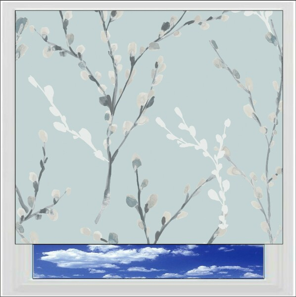 Willow Morning Mist Blackout Roller Blind