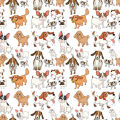 Adorable Dogs Digitally Printed Photo Roller Blind