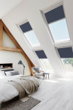 A Aruba Blackout Velux Style Roof Roller Blind