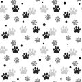 Cat Paw Prints Digitally Printed Photo Roller Blinds