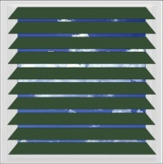 Hunter Green aluminium venetian blind