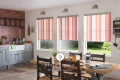 Indiana Orange Roller Blind