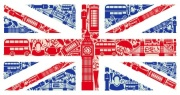 London British Flag Digitally Printed Roller Blind