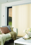 Ritz Ivory vertical blind
