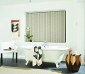 Romany Putty PVC Vertical Blind
