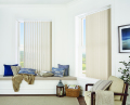 Shot Silk Pannacotta blackout vertical blind