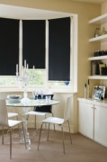 Splash Noir roller blind