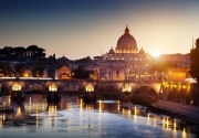 St Peter Basilica in Vatican City Rome Digitally Printed Roller Blind